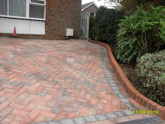 Brick Edging Driveway Also Design Photos click Here